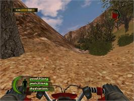 In game image of Cabela's Deer Hunt: 2005 Season on the Microsoft Xbox.