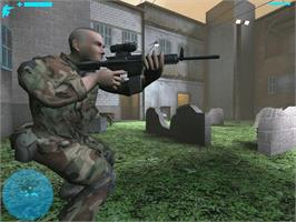 In game image of Combat: Task Force 121 on the Microsoft Xbox.