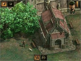 In game image of Commandos 2: Men of Courage on the Microsoft Xbox.