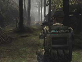 In game image of Conflict: Global Terror on the Microsoft Xbox.