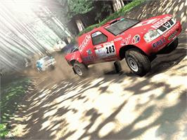 In game image of Dakar 2: The World's Ultimate Rally on the Microsoft Xbox.