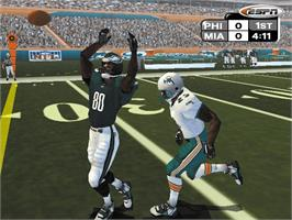 In game image of ESPN NFL Primetime 2002 on the Microsoft Xbox.