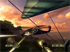 In game image of Far Cry: Instincts - Evolution on the Microsoft Xbox.