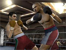 In game image of Fight Night 2004 on the Microsoft Xbox.