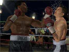 In game image of Fight Night Round 2 on the Microsoft Xbox.