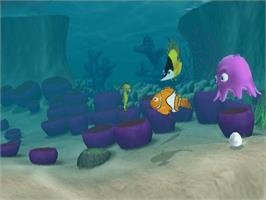 In game image of Finding Nemo on the Microsoft Xbox.