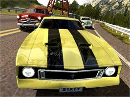 In game image of Ford Racing 2 on the Microsoft Xbox.