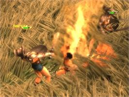 In game image of Gladiator: Sword of Vengeance on the Microsoft Xbox.