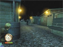 In game image of Great Escape on the Microsoft Xbox.