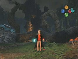 In game image of Harry Potter and the Chamber of Secrets on the Microsoft Xbox.