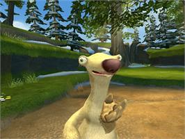 In game image of Ice Age 2: The Meltdown on the Microsoft Xbox.