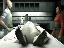 In game image of Indigo Prophecy on the Microsoft Xbox.