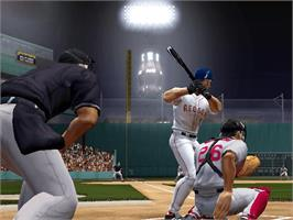 In game image of Inside Pitch 2003 on the Microsoft Xbox.