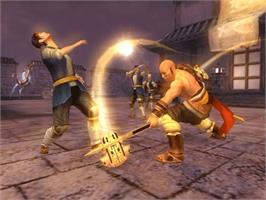 In game image of Jade Empire (Limited Edition) on the Microsoft Xbox.