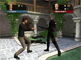 In game image of Largo Winch: Empire Under Threat on the Microsoft Xbox.