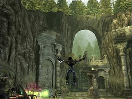 In game image of Legacy of Kain: Defiance on the Microsoft Xbox.