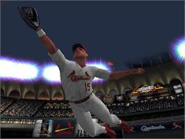 In game image of MLB SlugFest 20-04 on the Microsoft Xbox.