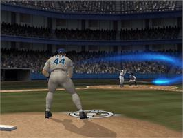In game image of MLB Slugfest 2006 on the Microsoft Xbox.