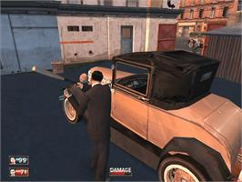 In game image of Mafia on the Microsoft Xbox.