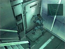 In game image of Metal Gear Solid 2: Substance on the Microsoft Xbox.