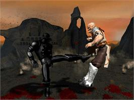 In game image of Mortal Kombat: Deception on the Microsoft Xbox.