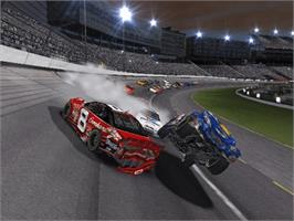 In game image of NASCAR Thunder 2003 on the Microsoft Xbox.