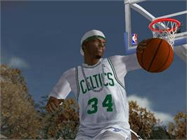 In game image of NBA Ballers: Phenom on the Microsoft Xbox.