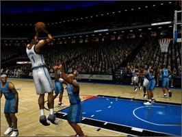 In game image of NBA Inside Drive 2002 on the Microsoft Xbox.