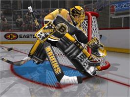 In game image of NHL Hitz 20-02 on the Microsoft Xbox.