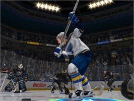 In game image of NHL Hitz 20-03 on the Microsoft Xbox.