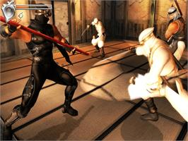 In game image of Ninja Gaiden Black on the Microsoft Xbox.