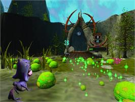 In game image of Oddworld: Munch's Oddysee on the Microsoft Xbox.