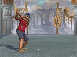 In game image of Outlaw Golf 2 on the Microsoft Xbox.