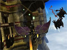 In game image of Panzer Dragoon Orta on the Microsoft Xbox.