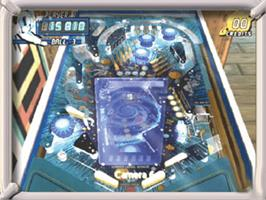 In game image of Pinball Hall of Fame: The Gottlieb Collection on the Microsoft Xbox.