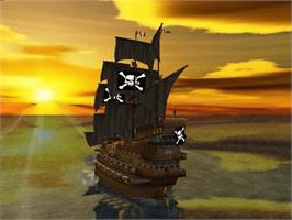 In game image of Pirates: The Legend of Black Kat on the Microsoft Xbox.