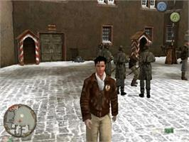 In game image of Prisoner of War on the Microsoft Xbox.