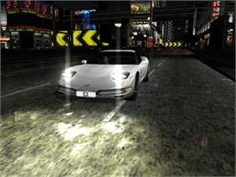 In game image of Project Gotham Racing on the Microsoft Xbox.