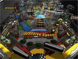 In game image of Pure Pinball on the Microsoft Xbox.