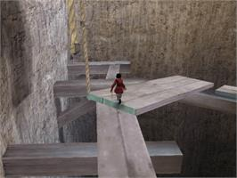 In game image of Red Ninja: End of Honor on the Microsoft Xbox.