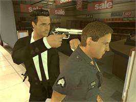 In game image of Reservoir Dogs on the Microsoft Xbox.