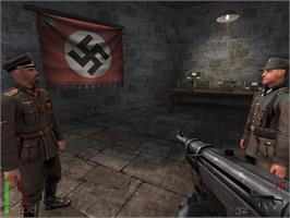 In game image of Return to Castle Wolfenstein: Tides of War on the Microsoft Xbox.