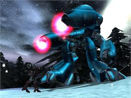 In game image of Robotech: Invasion on the Microsoft Xbox.