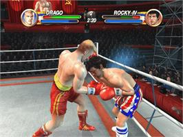 In game image of Rocky: Legends on the Microsoft Xbox.