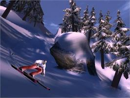 In game image of SSX on Tour on the Microsoft Xbox.