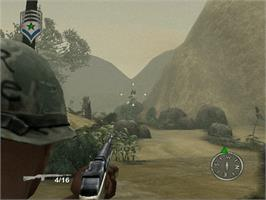In game image of Shellshock: Nam '67 on the Microsoft Xbox.