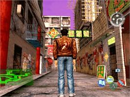 In game image of Shenmue 2 on the Microsoft Xbox.
