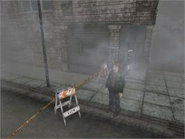 In game image of Silent Hill 2: Restless Dreams on the Microsoft Xbox.
