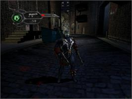 In game image of Spawn: Armageddon on the Microsoft Xbox.