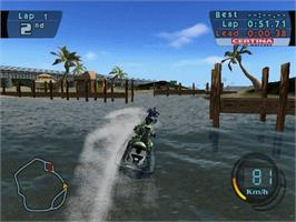 In game image of Splashdown on the Microsoft Xbox.